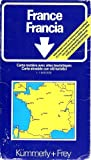 img - for Frankreich France : Road Map for Sightseeing [1:1000000] book / textbook / text book