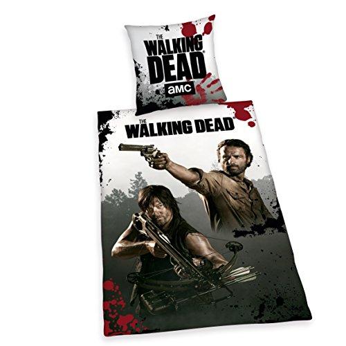 Herding 4465017050412The Walking Dead federa, 80x 80cm e copripiumino di 135x 200cm, Renforce