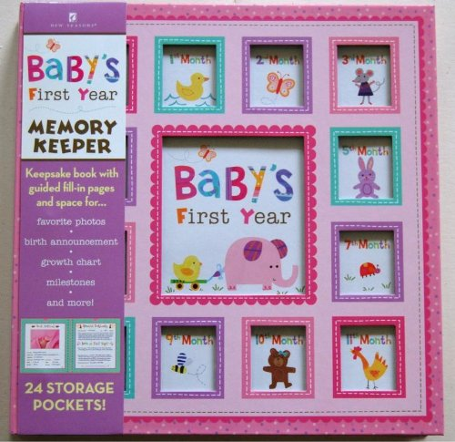 Baby'S First Year: Animals Girl - 7655200 Deluxe Pocketful Of Memories front-688841