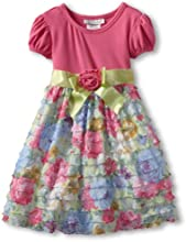 Bonnie Jean Little Girls39 Solid To Print Dress