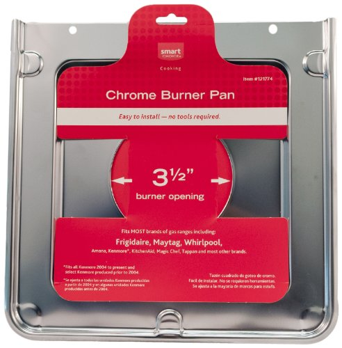 Frigidaire 5304432963 Chrome Square Burner Pan Cooktop Accessory
