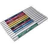 VOSO - Pro 12 Color Eye Shadow Eyeliner Lip Liner Pencil Cosmetic Makeup Set # 5100610