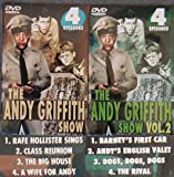 2 New DVDs - 8 Episodes of the Andy Griffith Show