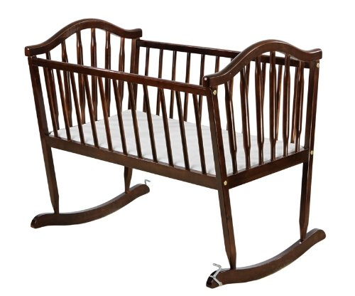 Buy Bargain Dream On Me Rocking Cradle, Espresso