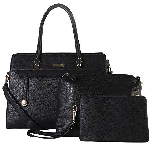 diophy-pu-leather-front-zippered-pocket-large-structured-tote-with-medium-and-small-bags-inside-3-pi