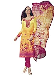 Lebaas Designer Lawn Cotton A-Line Casual Wear Suit (Unstitched Dress Material) - (With Discount and Sale Offer)