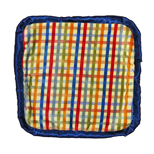 Caught Ya Lookin' Baby Thumb Blanket, Boys Plaid Minky Chevron