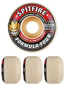 SPITFIRE WHEELS スピットファイヤー ウィール FORMULA FOUR CLASSIC 101D フォーミュラーフォー 52mm SKATEBOARD スケートボード スケボー ウィール