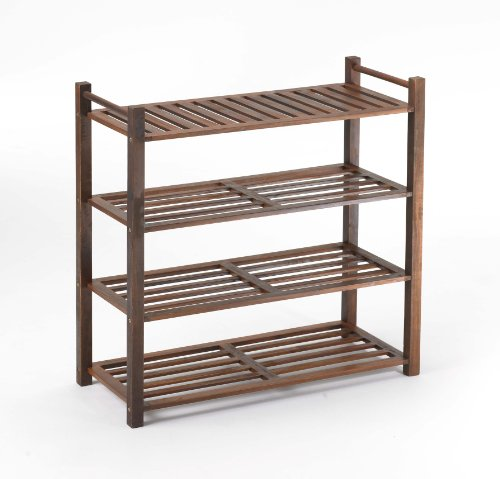 Images for Merry Products SLF0010110000 4-Tier Outdoor Shoe Rack