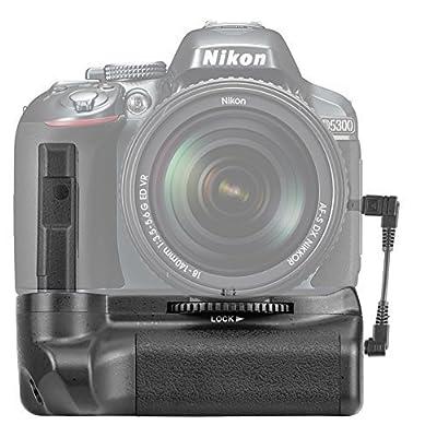 Neewer Pro Battery Grip for Nikon D5100 5200 D5300 DSLR Camera Compatible with EN-EL14 Batteries