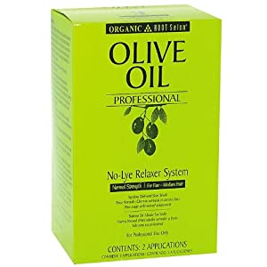 Organic Root Stimulator Pro Olive No-Lye Kit, Normal
