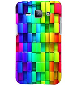 PrintDhaba Pattern D-2433 Back Case Cover for SAMSUNG GALAXY J1 (Multi-Coloured)