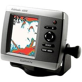 Garmin Fishfinder 400C with Dual-Beam Transducer