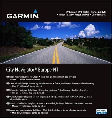 Garmin Maps of Europe NT City Navigator on DVD Black Friday & Cyber Monday 2014