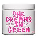 Nature Girl - Organic Bath Salts (She Dreams In Green) (Jasmine Lime)