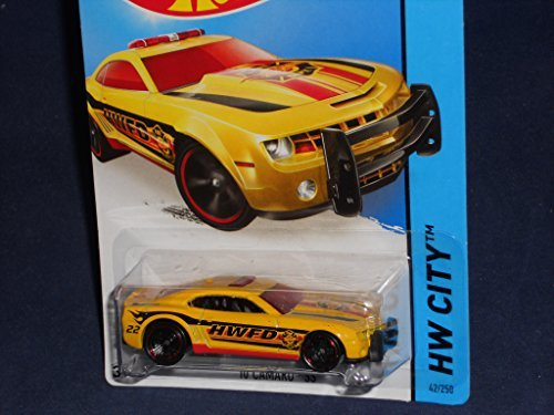 2014 Hot Wheels Hw City 42/250 - '10 Camaro SS (Fire Dept.)