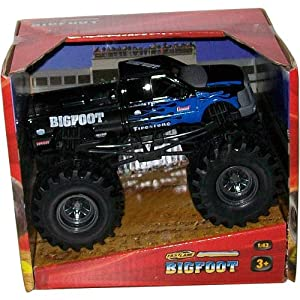 fast lane 1 43 scale bigfoot monster truck. Black Bedroom Furniture Sets. Home Design Ideas