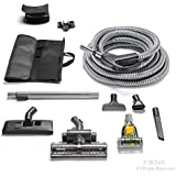 GV Central Vacuum Hose Kit fits ALL systems Turbo Head Tools Warranty & More