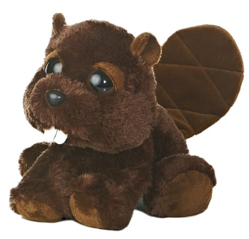 "Aurora World Dreamy Eyes Bucky Beaver 10"" Plush"