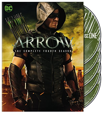 Arrow Staffel 4 Dvd Labels (2015) R2 German Custom