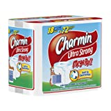 Charmin Ultra Strong, Mega Rolls, 6 Count Pack (Pack of 3) 18 Total Rolls  [Amazon Frustration-Free Packaging] ~ Charmin