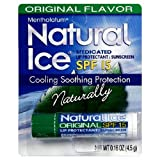 Natural Ice Mentholatum Medicated Lip Protectant Spf-15, 4g (Pack Of 12)