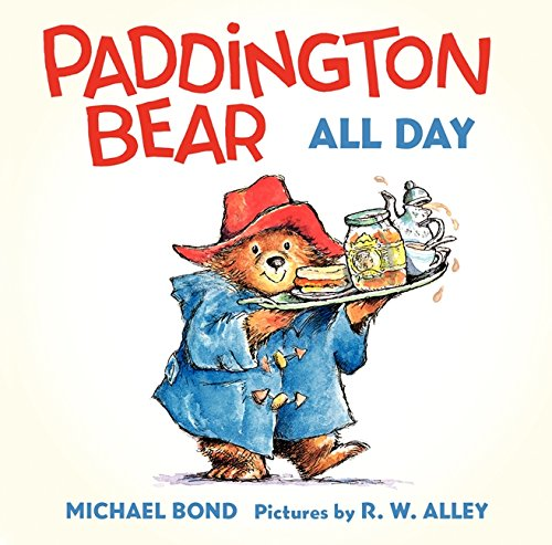 Paddington Bear All Day Board Book (Paddington Bear Book compare prices)