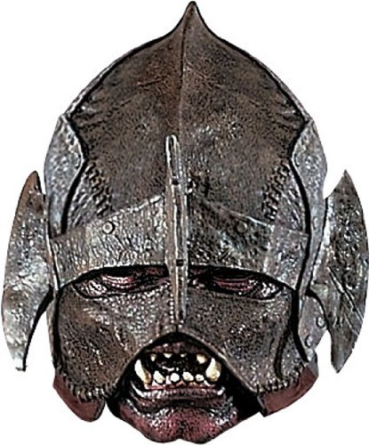 Rubie's Costume Men's Lord Of The Rings Deluxe Adult Uruk-Hai Mask