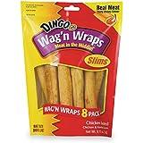 Dingo Wag'n Wraps Slims, 8-Count