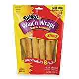 Dingo Wag'n Wraps Slims, 8-Count