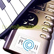 "ROll Up Piano - Yamano Hand ROll Piano - Digital & Portable 61 Keys Roll-Up Piano Electronic MIDI Keyboard with 16 MIDI Output Channels Design by the INVENTOR YAMANO JAPAN - (YAMANO is the ONLY brand Voted as one of ""THE MOST AMAZING INVENTIONS"" by the editors of Time Magazine)"