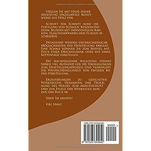kreative Holzgestaltung: Drechseln, Schnitzen, Kettensägearbeiten,...