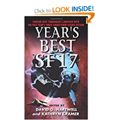 Year's Best SF 17 by David G. Hartwell and Kathryn Cramer