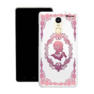 Customizable Hamee Original Designer Cover Thin Fit Crystal Clear Plastic Hard Back Case for Motorola Moto G3 (pink flower queen)
