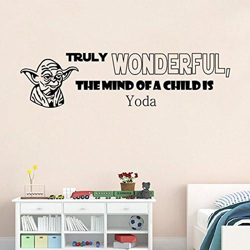 [Starwar Yoda Removable Wall Stickers Home Room Vinyl Mural DIY Decal Kid Bedroom Art Decor 35