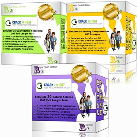 Optometry Admission Test - Crack the OAT Ultimate Bundle Package (2012-2013 Edition) Digital Download