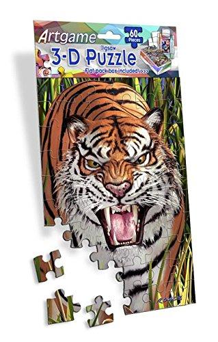 Artgame - Tiger - 3D Mini Puzzles