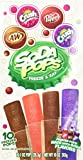 Soda Pops Freeze and Eat Freezer Pops 10 Count - Pack of 3