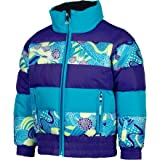 Spyder Bitsy Duffy Puff Jacket - Little Girls' Blue Bay, 6