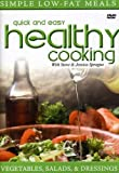 echange, troc Vegetables, Salads And Dressings - Quick And Easy Healthy Cooking [Import anglais]