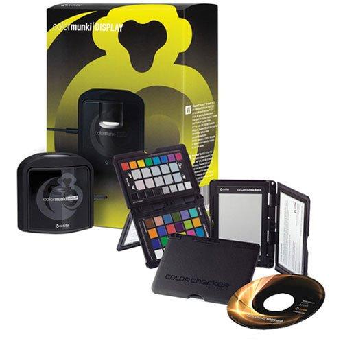 X-Rite CMUNPH ColorMunki Photo and ColorChecker Passport Bundle – Black