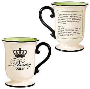 Grasslands road her majesty 14 ounce dancing queen mug for Grasslands road mugs
