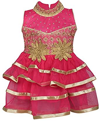 Cute Fashion Kids Girls Baby Princess Soft Net Party Wear ...