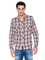Pepe Jeans London Camisa Hombre Baker (Rosa)