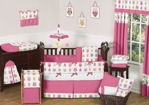Owl Baby Bedding Set 594 front