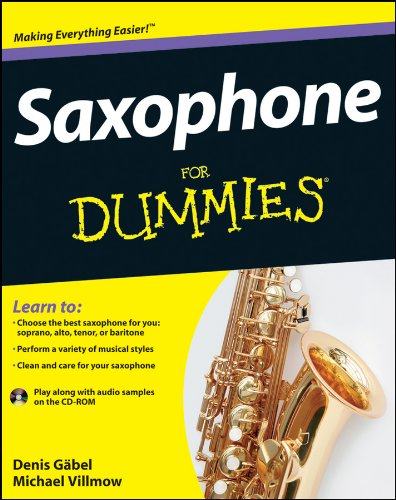 Saxophone For Dummies (For Dummies (Sports & Hobbies))