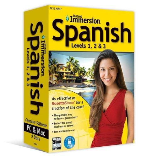 Spanish Levels 1, 2 & 3 (English and Spanish Edition)