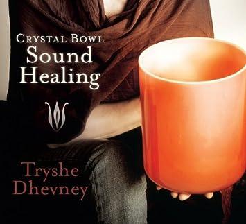 Sound healing crystal bowls