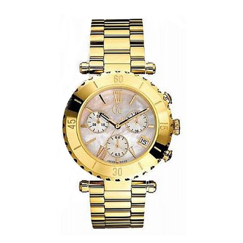 Guess Collection Diver Chic I37000L1S 38 Stainless Steel Case Steel Bracelet Band Anti-Reflective Sapphire Women's Watch