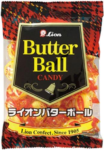 ライオン菓子 ライオンバターボール 127g×6袋